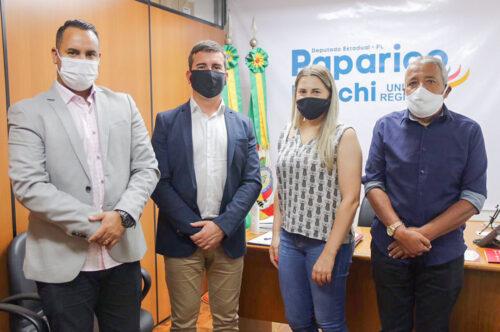 Vereadores entregam pedidos de emendas durante agenda em Porto Alegre